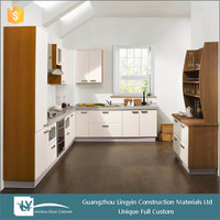 2015 new modular kitchen cabinet color combinations hot sale in China