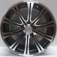 ALLOY WHEELS TO FIT BMW 18 INCH PCD 120 ET 40 CB 72.6 MACH/GREY......EUROPES MAIN SUPPLIER BEST PRICE ONLY 1 to 4 DAYS DELIVERY