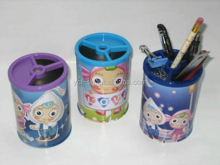 China Supplier Own Factory Round Metal Pen Holder With Good Price