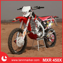 450cc powered motorcycle