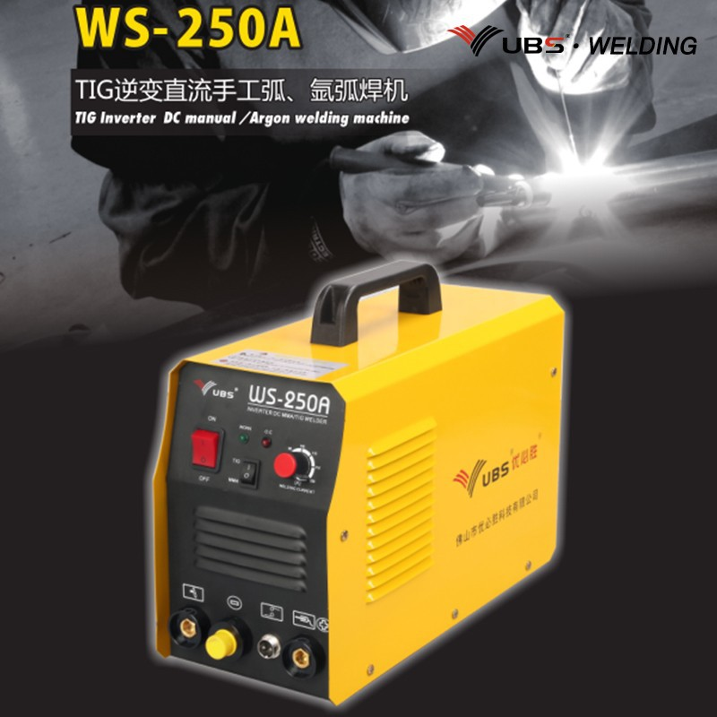Single phase portable arc welding machine for welding stanless steel / carbon steel WS-200A