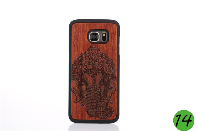 For Samsung S7 Edge Carved Phone Housing,Protective Phone Cover for Samsung S7 Edge,Wooden Phone Case OEM from China