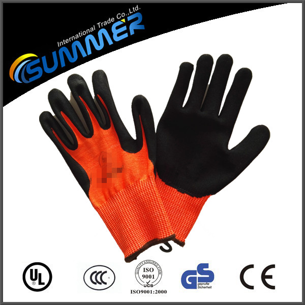 Wholesale cheap work glove with logo printing