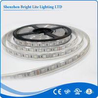 5050-Waterproof IP66 purple 60LED UL certificate 3 volt led strip ul ce rohs