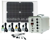 Wholesale led solar power system with USB Output to charge mobile phones,mp3,mp4 and so on
