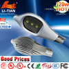 IP65 best price list cob led streetlight 120w warranty 3 years