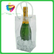 customized hot selling high quality pvc wine chill bag for packing