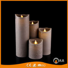 Hot promotion novel design led candle windproof in many style