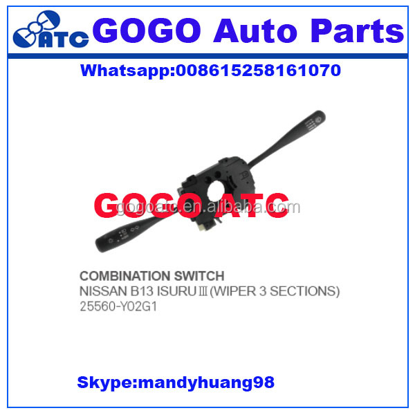 25560 Y02G car parts auto on off switch labels