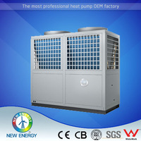 Multifunctional innovative hotel chiller heat pump air to water free standing split type air conditioner