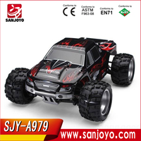 New WL A979 rc car toy 1:18 2.4G 4 wheels independent suspension 4WD Speed About 50 km/h SJY-WL A979