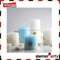 2017 new design Art Candle Votives Soy Candle Prices