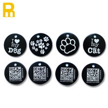 Be Unique!!! custom aluminum qr dog tag for pet
