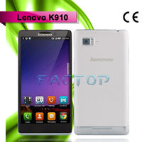 5.5 inch cheap android phones lenovo k910 dual sim card dual standby quad core