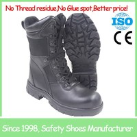 High cut anti smash safety boot black safety equipment