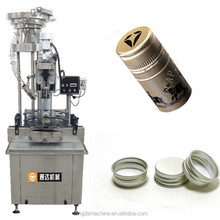 automatic wine bottle screw cap capping machine/bottle sealer capper