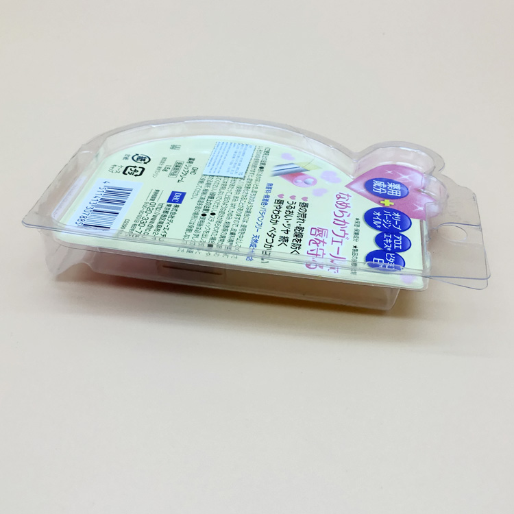 Wholesale Clear Plastic blister Packaging Box Clamshell Blister Box