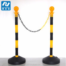 Traffic Plastic Stanchion/used crowd control barriers