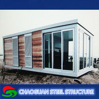 prefab house/villa/shop/portable office/warehouse for sale