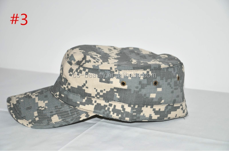 Hunting&Camping Camo Solid Army Washed Military Cadet Patrol visor ACU Caps Millitary inspired Hats