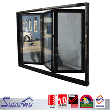 AS2208 standard sound insulation commercial double aluminium bifolding doors