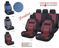 Supply classic universal comfoetable Microfiber 100% Polyester Car Seat Cover