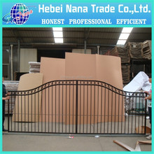 Modern metal gates and steel fences gate design