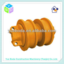 D50 steel forged double flange/df track roller bottom roller lower roller for bulldozer spare parts