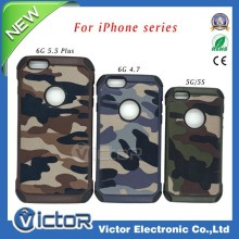 New product high quality army style hybird phone case for iphone