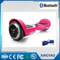 6.5 inch dual Li- Battery smart Electric 2 wheel Skateboard for girls