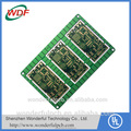 Professional OEM ce rohs 2 layers green solder mask pcb
