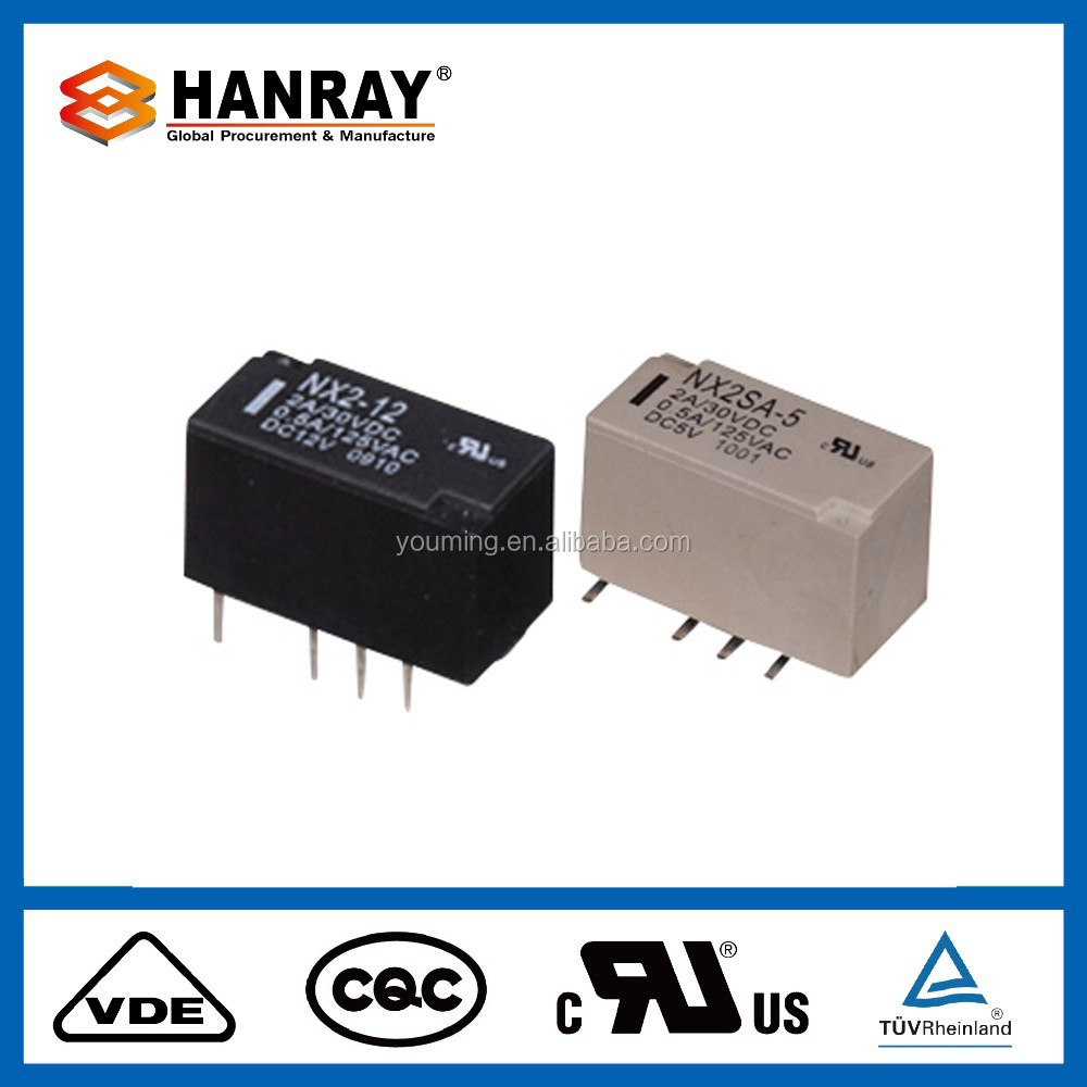 NX smd pcb Electric Latching relay