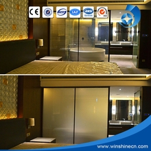 2016 Switchable Opaque To Transparent Smart Window Film / Pdlc New Privacy Smart Glass Film
