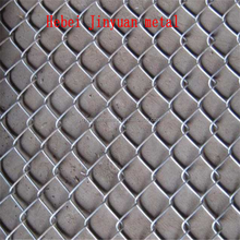 green pvc surface treatment chain link fence /Galvanized Chain link wire mesh/chain link fence