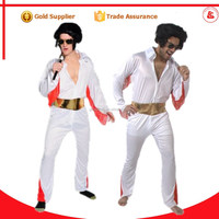sexy michael jackson concert costume cheering costume designs elvis costume for party