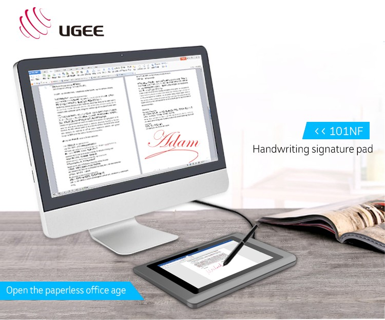 2017 New Cheapest Portable Electronic Usb Powered Signature Pad
