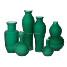Set of 6 Traditional shapes and sizes Porcelain Vases