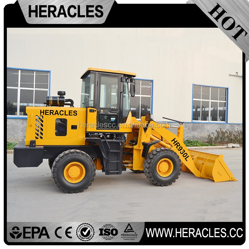 China front end farm tractors with loader