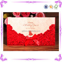 Luxurious wedding invitation card&luxurious classic wedding invitation card