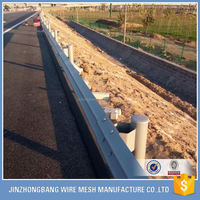 high strength highway bridge guardrail