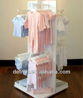 New design baby clothes children clothes display stand