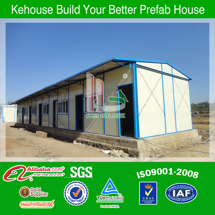 low cost easy assemble ready made dye prefab house for sale