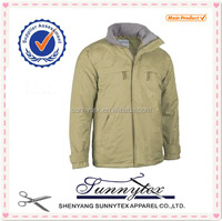 winter men jacket with pading