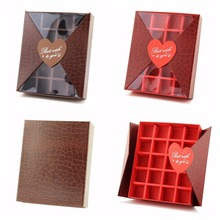 Majorin luxury chocolate paper boxes packagingwith division