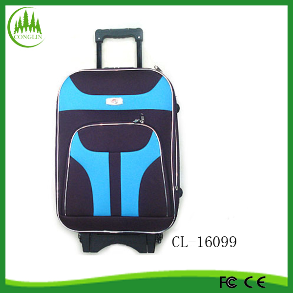 2014 wholesale cheap city luggage trolley bags