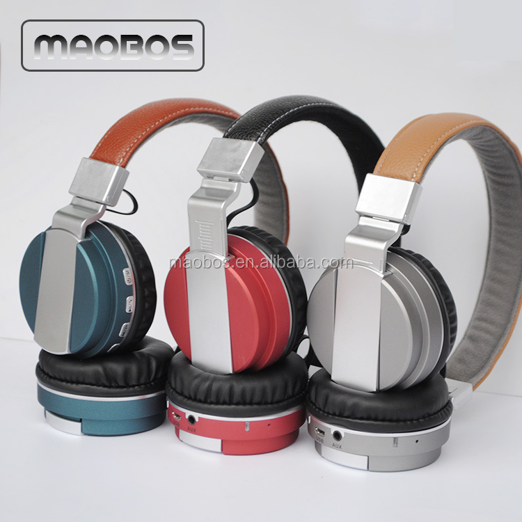 2016 brand new custom branded wireless headphone