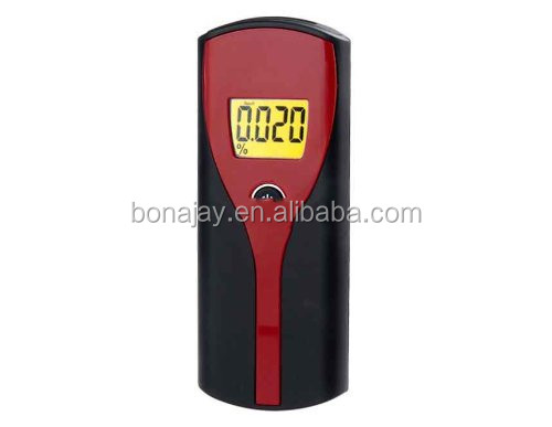 Professional Digital Breath Alcohol Tester Easy Use Breathalyzer Meter Analyzer