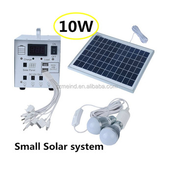 Meind small solar system 20w for lighting