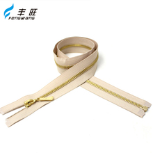 Top sale fashion metal zipper heavy duty zips for coats shoes tents garment