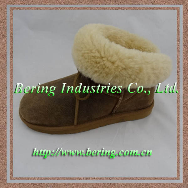 2017new fashion leather boots